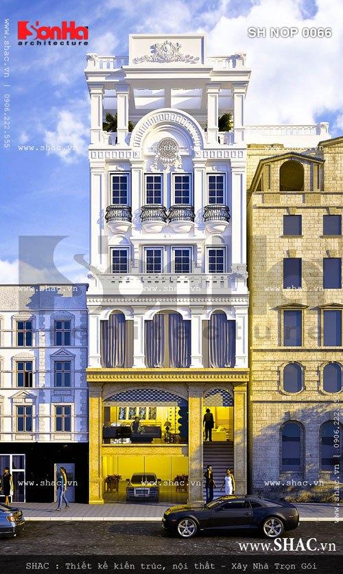 nhà phố kết hợp kinh doanh kiến trúc hiện đại, nha pho ket hop kinh doanh kien truc hien dai