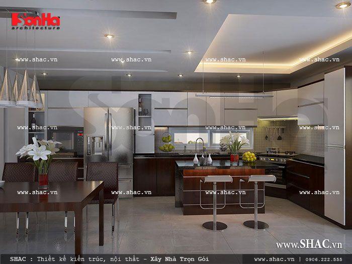 nội thất bếp ăn hiện đại