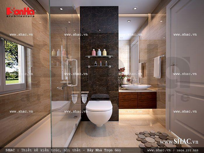 Nội thất phòng vệ sinh cho chung cư
