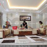 Phòng khách san trọng của ngôi nhà