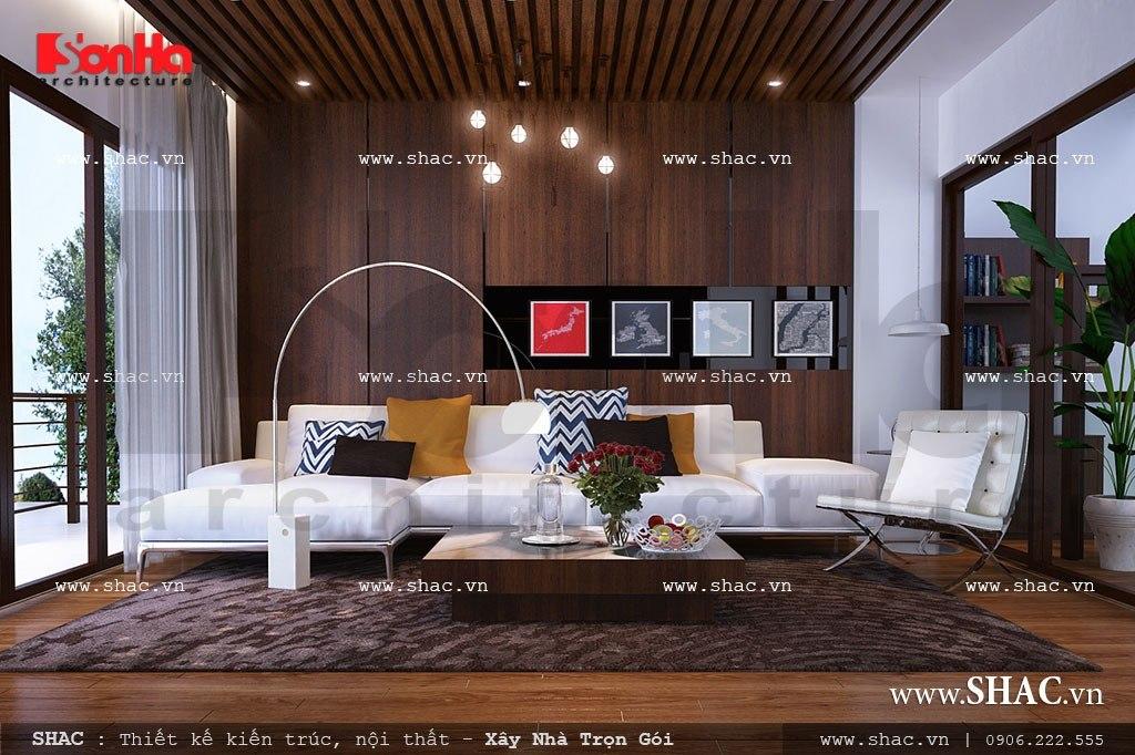 Phòng khách sang trọng và hiện đại