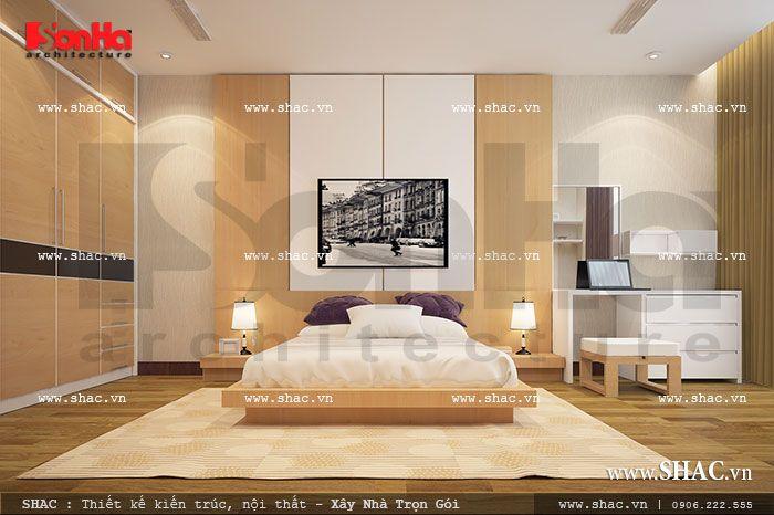 Phòng ngủ 1 - Phòng ngủ chung cư đẹp