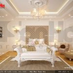 Phòng ngủ kiểu pháp lãng mạn