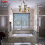 Nội thất phòng tắm phong cách pháp