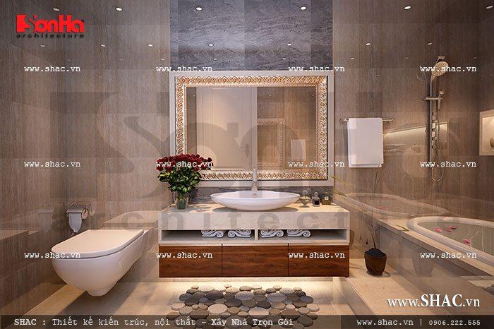 Thiết kế phòng tắm tiện nghi cho chung cư