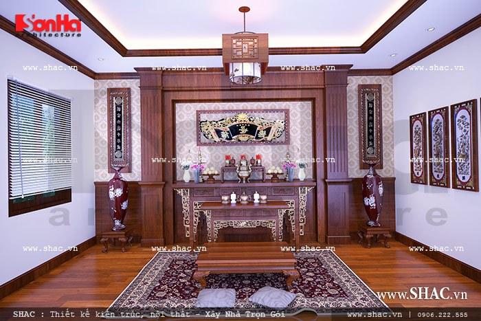 Phòng thờ truyền thống