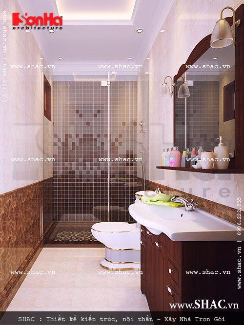 Phòng wc đẹp và tiện nghi