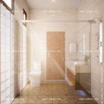 Phòng wc thông thoáng sh btd 0032
