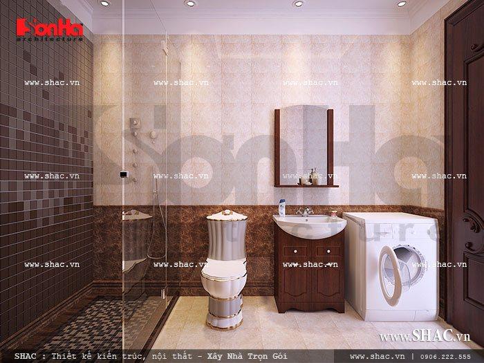 Phòng wc tiện nghi