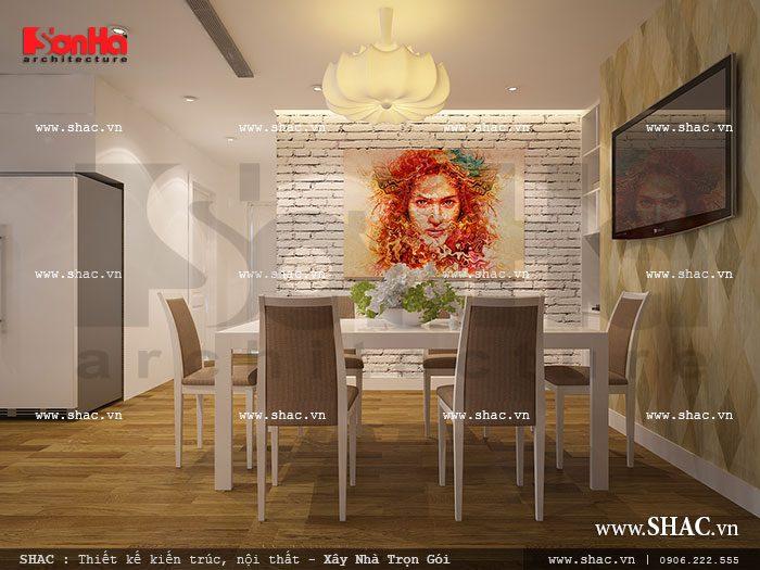 Bản thiết kế phòng ăn