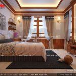 Thiết kế phòng ngủ đẹp và ấm cúng sh btd 0032