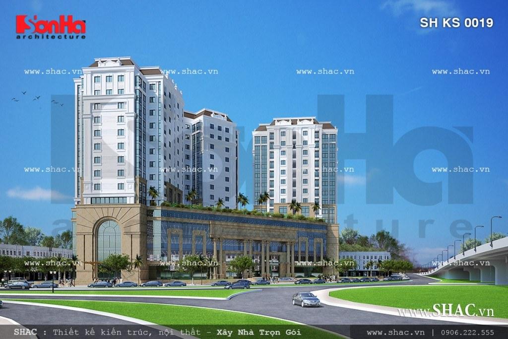 Thiết kế trung tâm thương mại Nam sông Lạch Tray