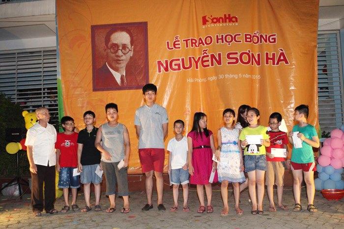 Học bổng Nguyễn Sơn Hà 2015 SHAC