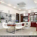 Không gian bếp ăn hiện đại và trẻ trung sh btp 0057