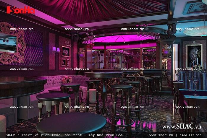 Thưởng thức cafe tại quầy bar của khách sạn sh ks 0020