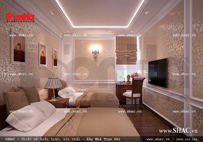 Mẫu phòng ngủ đôi của khách sạn sh ks 0020