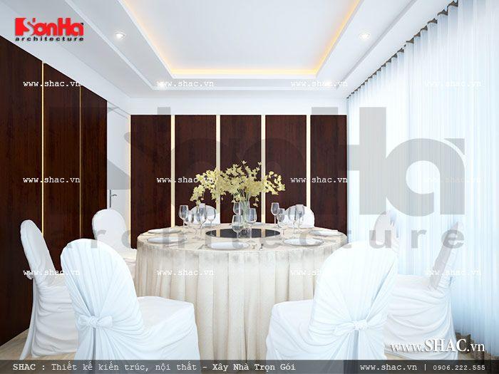 Nội thất phòng ăn số 3 của nhà hàng sh bck 0032