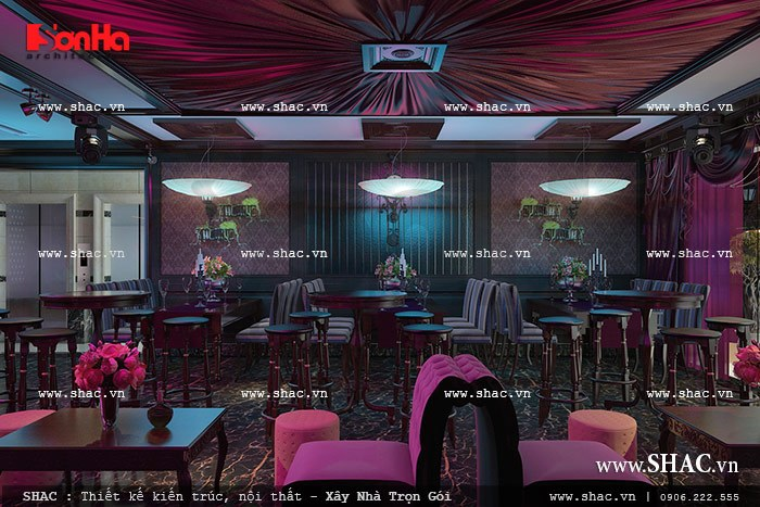 Nội thất quán bar trong khách sạn sh ks 0020