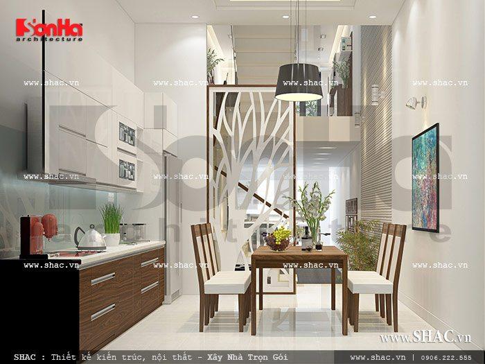 Phòng ăn đơn giản và ấm cúng sh nod 0112