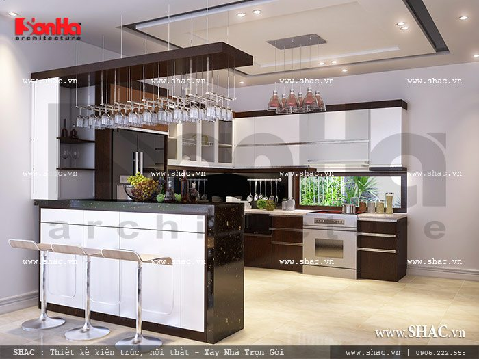Thiết kế nội thất biệt thự sang trọng, thiet ke noi that biet thu sang trong và tiện nghi