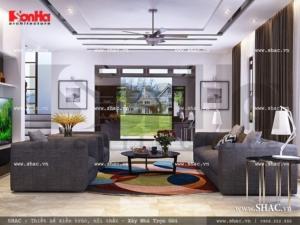 Phòng khách hiện đại và trẻ trung sh btd 0033