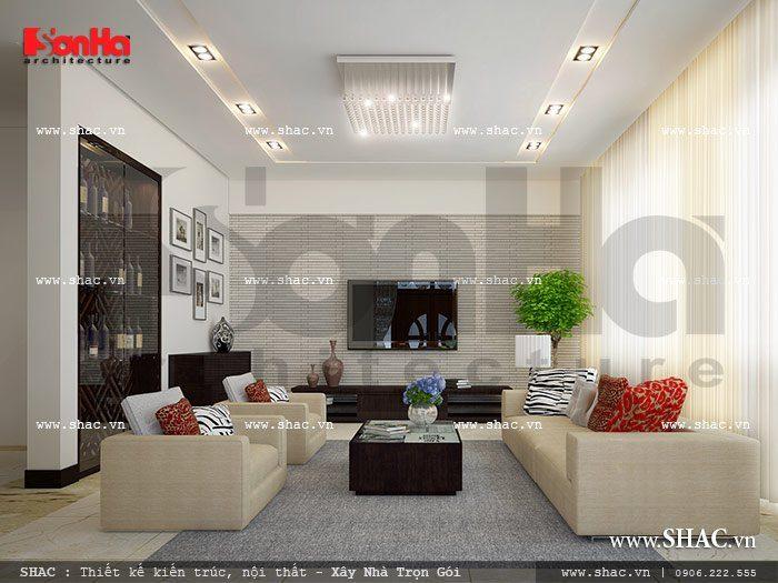 Phòng khách mang phong cách trẻ trung sh btp 0057