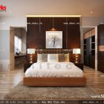 Phòng ngủ đẹp cho bố mẹ sh btd 0033