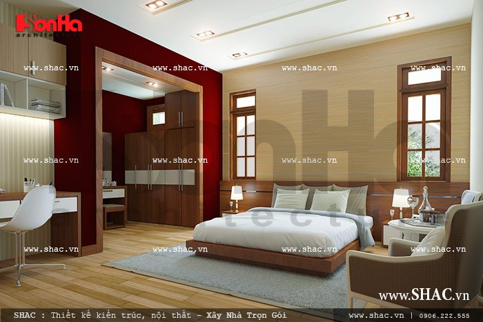 Phòng ngủ lãng mạn cho chủ nhân sh btp 0057