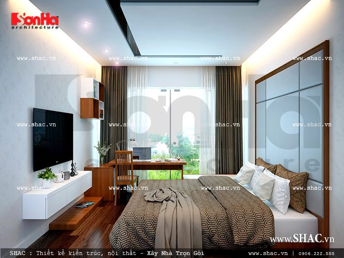 Phòng ngủ thoáng mát