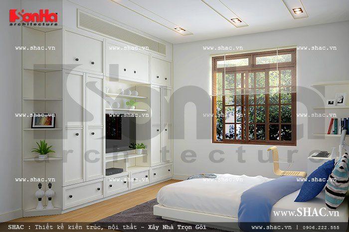 Phòng ngủ con thoáng đãng và gọn gàng sh btp 0057