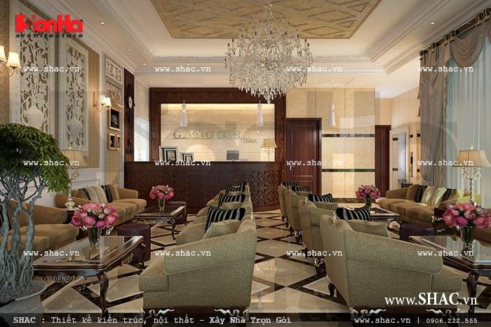 Quầy lễ tân khách sạn sh ks 0020