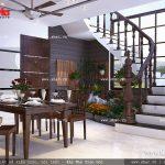 Thiết kế phòng ăn đơn giản sh btd 0033