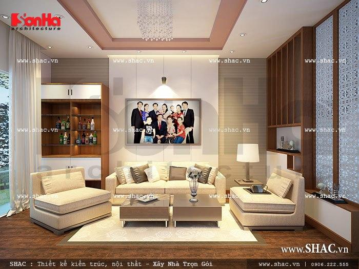 Thiết kế phòng khách đẹp sh nod 0111