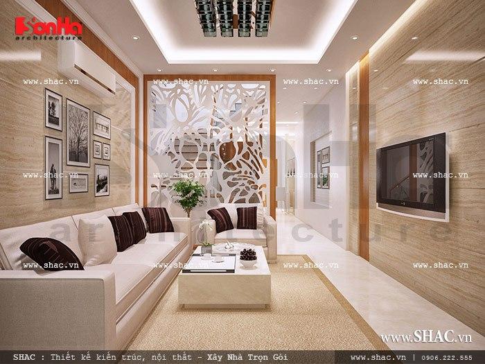 Thiết kế phòng khách hiện đại sh nod 0110