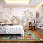 Thiết kế phòng ngủ ấn tượng sh btd 0033