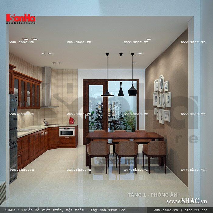 Không gian bếp nhỏ xinh sh nod 0116