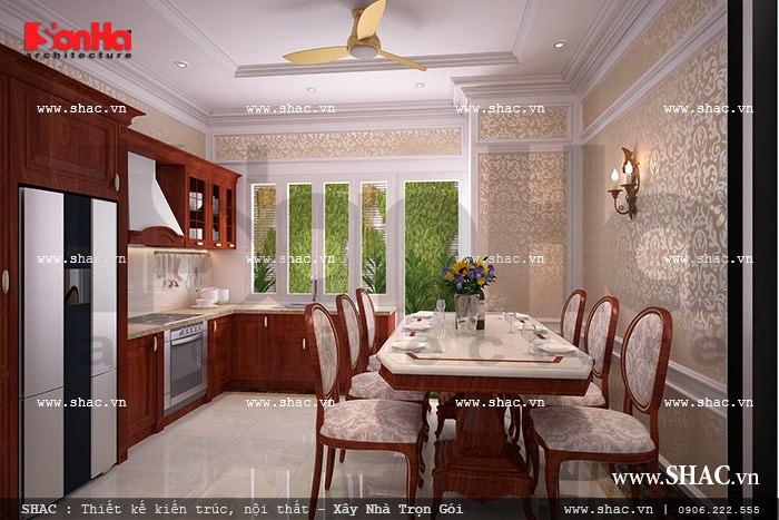 Nội thất phòng bếp đẹp sh nop 0075