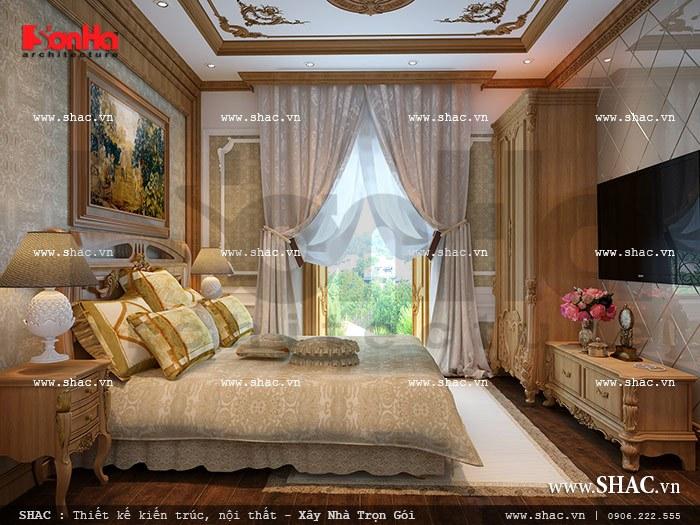 Nội thất phòng ngủ đẹp và sang trọng sh nop 0073