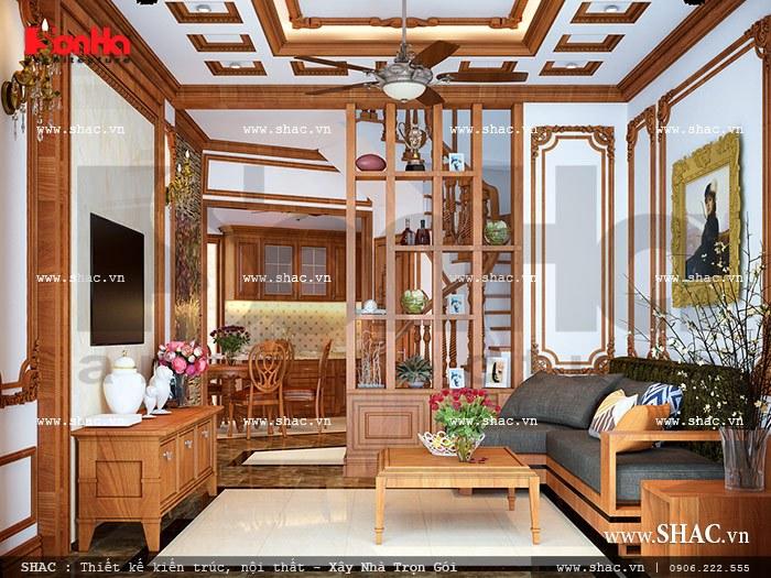 Phòng khách tầng 1 sh nop 0073