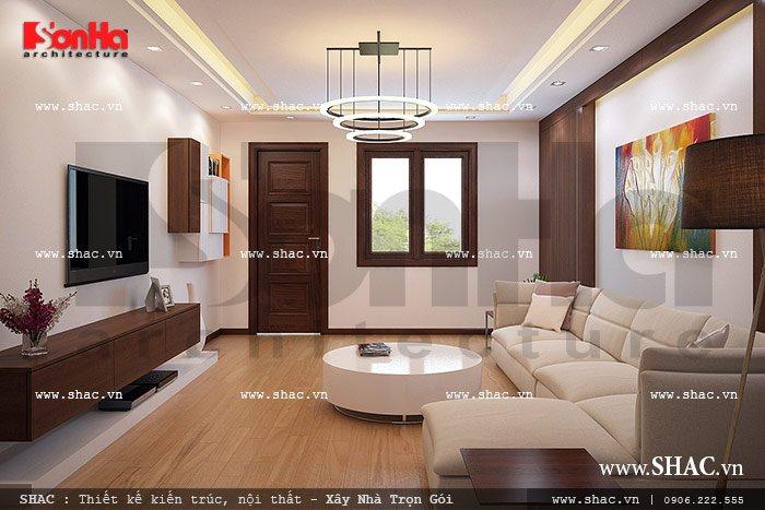 Phòng khách tầng 2 sh nod 0116
