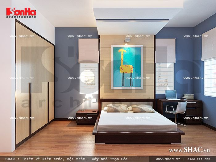 Phòng ngủ con trai sh nod 0117