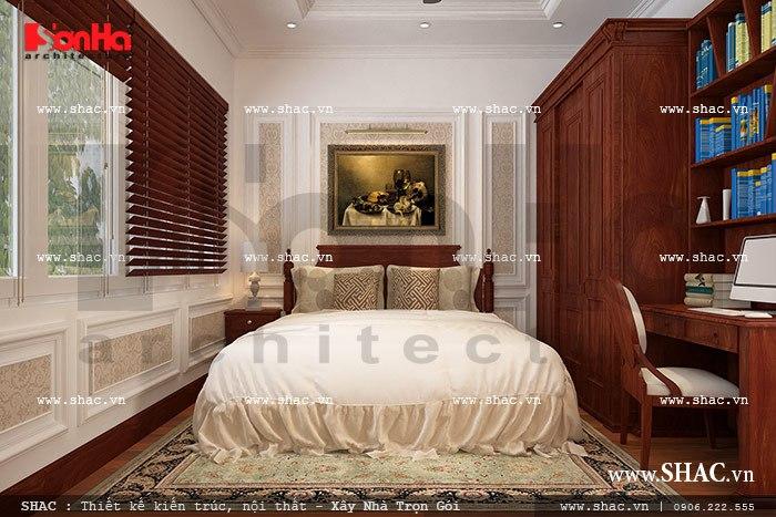 Phòng ngủ đẹp cho vợ chồng gia chủ sh nop 0075