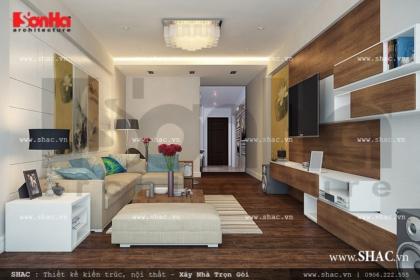 Thiết kế nội thất nhà phố hiện đại sh nt 0021
