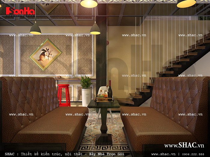 Bàn cafe với ghế sofa sh bck 0033