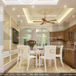 Bàn ghế tủ bếp phòng ăn sh nop 0078