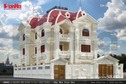 Biệt thự cổ điển kiểu Pháp sh btld 0019
