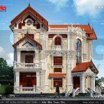 Biệt thự kiến trúc pháp đẹp sh btp 0061