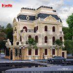 Biệt thự lâu đài kiểu pháp cổ điển sh btld 0018