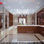 Không gian phòng khách và phòng bếp sh btp 0061
