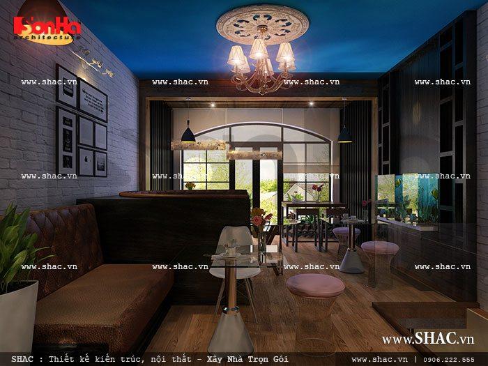 Không gian tầng 2 của quán sh bck 0033